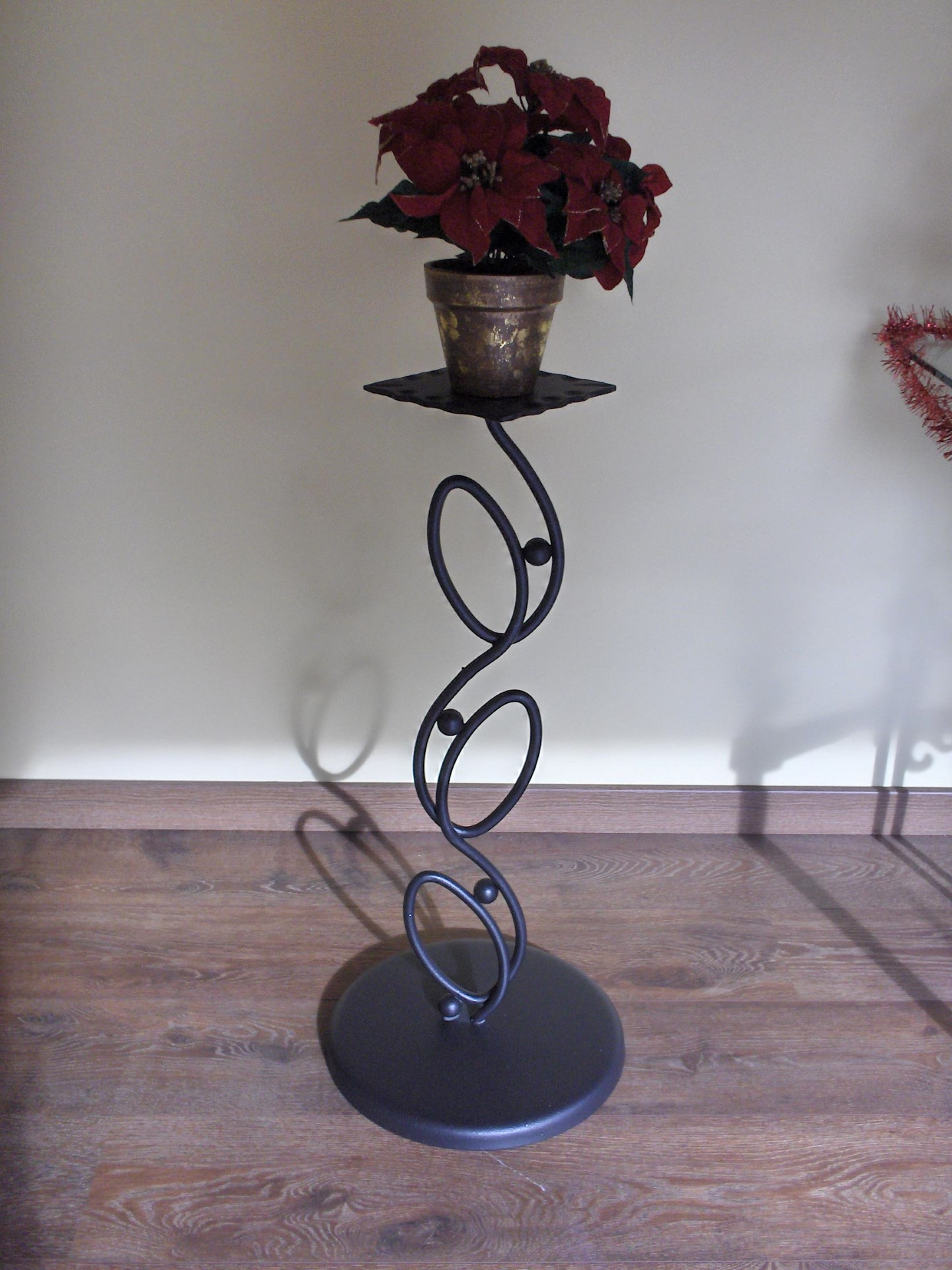 Portavasi edera la casa del ferro battuto - Porta vasi in ferro battuto ...