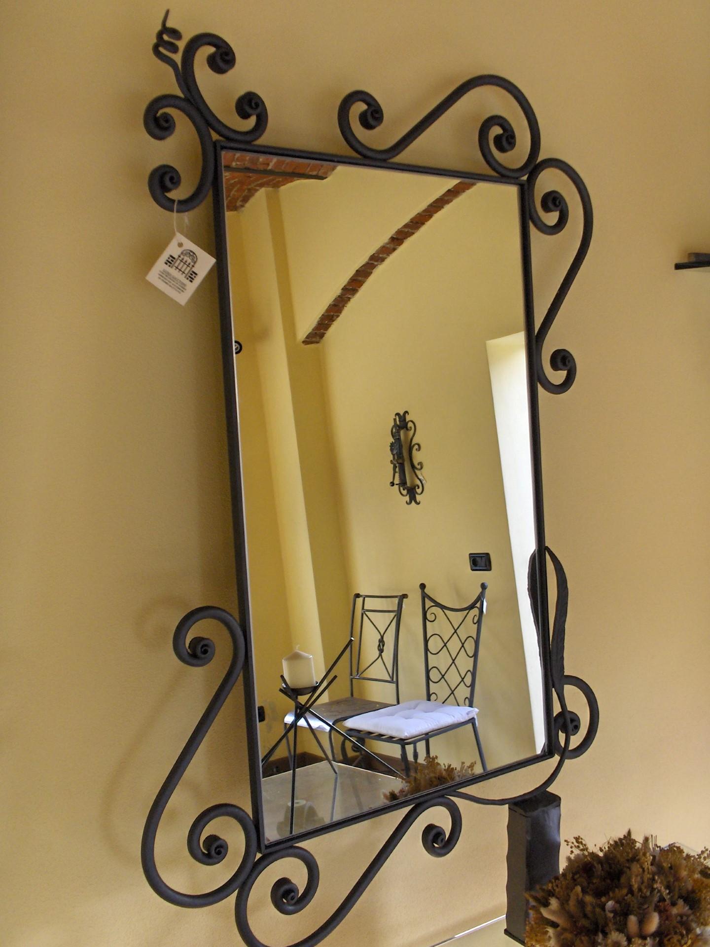 specchio ferrara la casa del ferro battuto