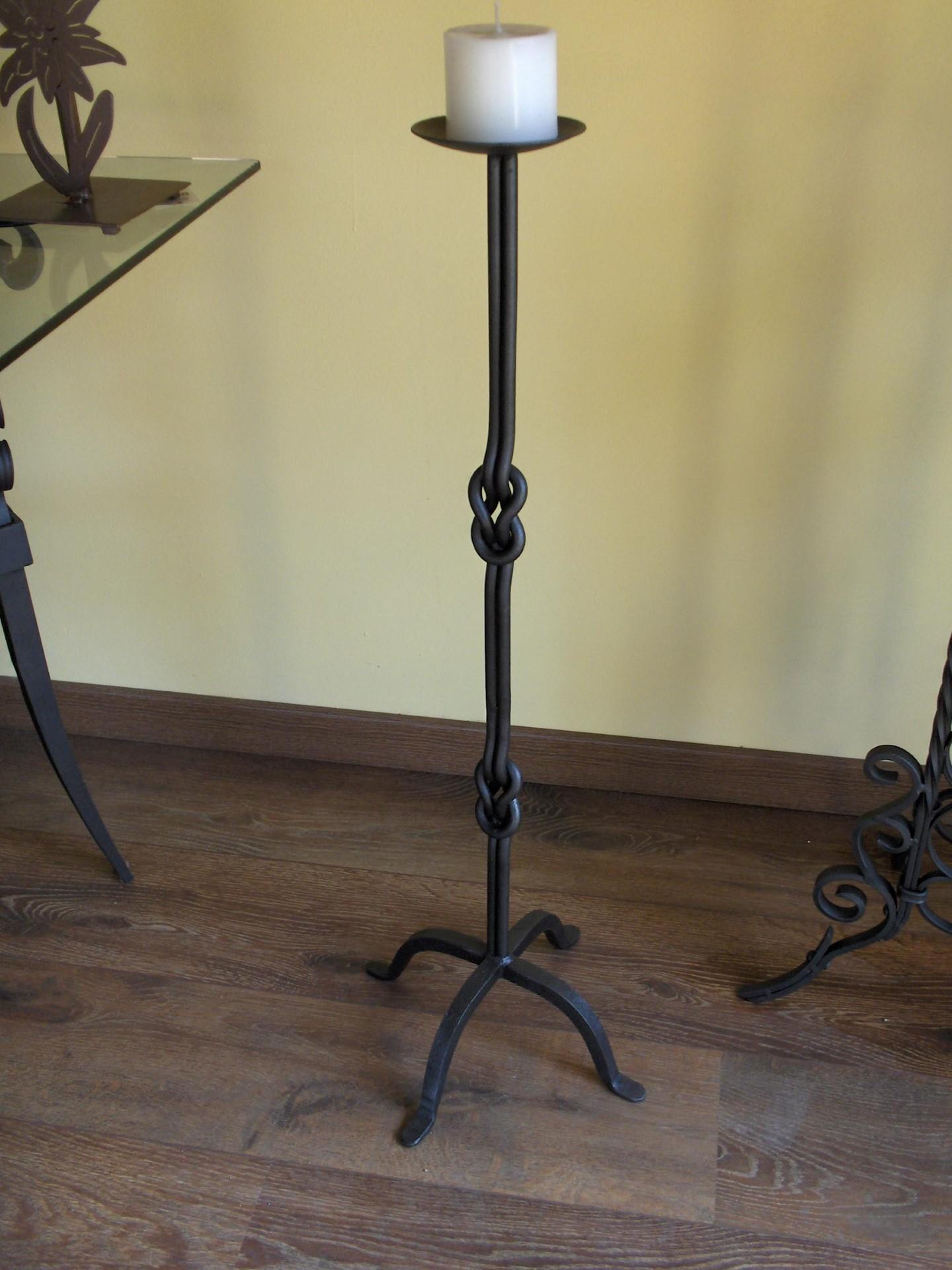 Candelabro milano la casa del ferro battuto - Accessori bagno in ferro battuto ...